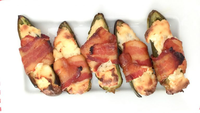 Bacon Jalapeno Goat Cheese Poppers