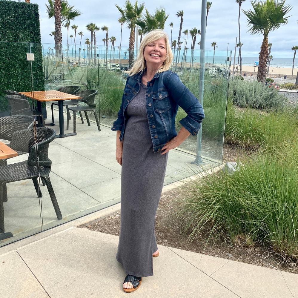 photo of Cheri Liefeld at beach