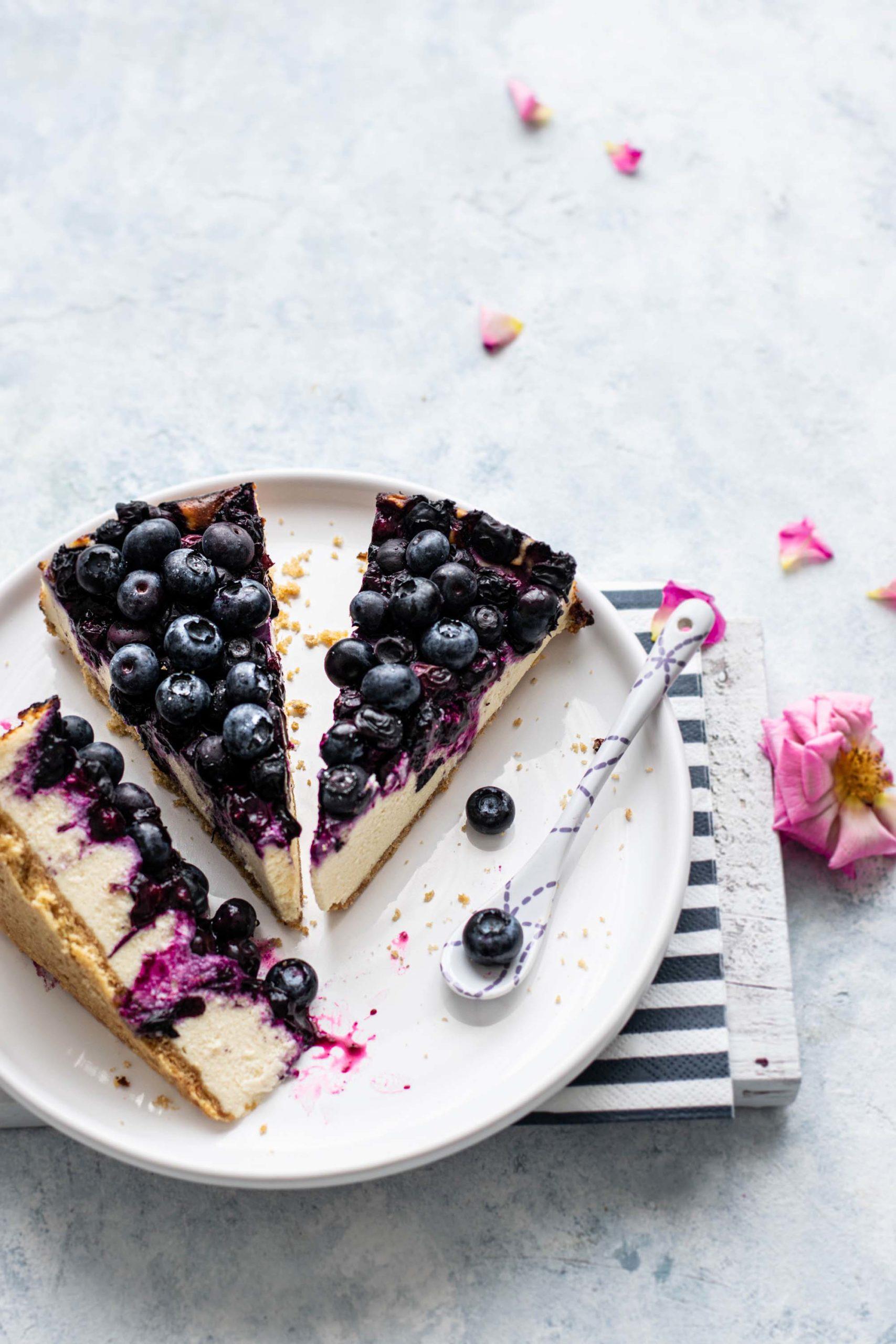 Delicious Blueberry Cheesecake