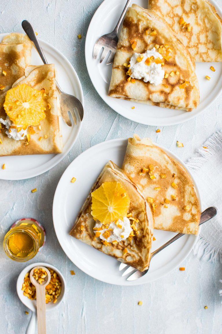 Orange Marmalade Crepes